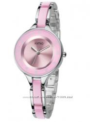 Часы женские фирменные KIMIO розовые