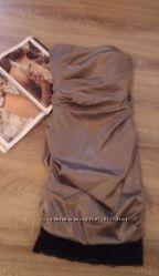 Красивое драпировонное вечернее платье