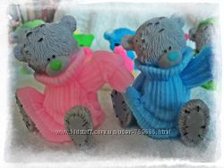 Мыло ручной работы  Тедди в свитере