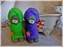 Мыло ручной работы  Тедди в халате