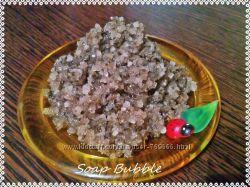 Соляной антицеллюлитный скраб для тела с ламинарией