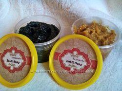 Марокканское мыло-скраб для бани сауны Бельди