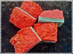 Натуральное мыло ручной работы с нуля Чайная роза