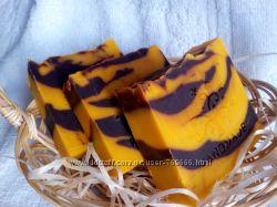 Натуральное мыло с нуля Апельсин & Шоколад