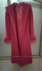 Цена снижена Женское кашемировое пальто
