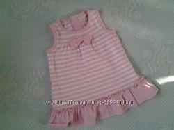 Новое летнее платье-туника на девочку 3-6мес. Fagottino, Италия
