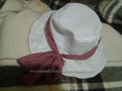Красивая летняя шляпка панама одета 2раза
