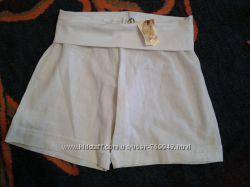 Классные, легкие льняные шортики для беременных, Kenguru Gold, Венгрия