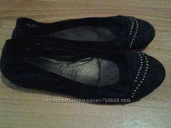 Недорого туфельки на каждый день куплены в Италии р. 37-38