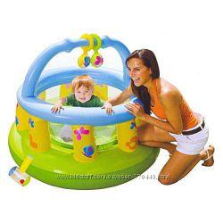 Детские надувные батуты и манежи Intex оригинал. Большой выбор