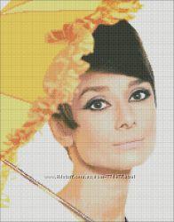 Авторские схемы для вышивки портретов по Вашим фото