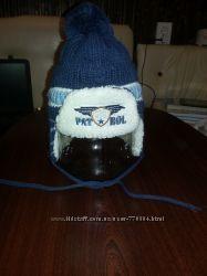Очень тёплая зимняя шапка на натуральной овчине