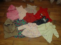 Много одежды для девочки