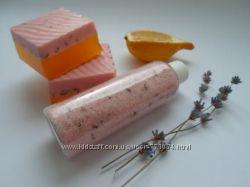 Розовый песок -скраб для тела