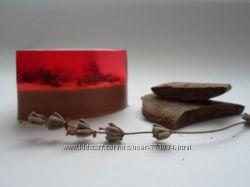 Шоколадно-лавандовое мыло