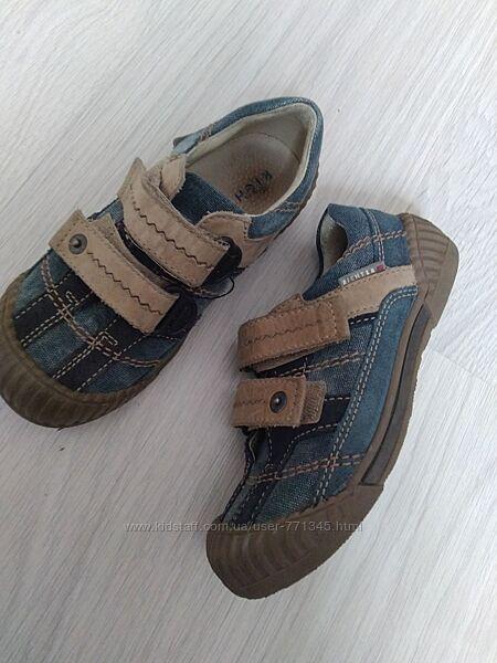 Кроссовки. richter. ботинки. туфли. кожа 18 -18,5 см.