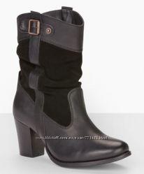 Новые кожаные полусапожки LEVIS размер 36-36, 5