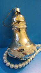 елочная игрушка СССР Колокольчик