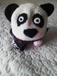 Шапка панда зима, осень до 52см