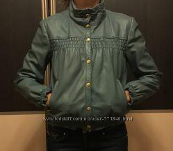 Куртка-бомбер Мах Со, Италия, кожа