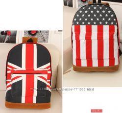 Стильный рюкзак с флагом в наличии  супер цена