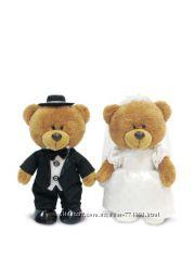 Медведица в свадебном наряде музыкальная 24 см