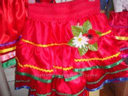 Юбки для украинского костюма с вышиванкой