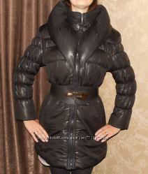 Пуховик пальто курточка зимняя 44-46р.