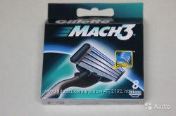 Лезвия Gillette Mach3