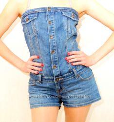 Комбинезончик джинсовый шортиками