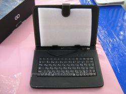 Продам новый чехол-клавиатуру на 9 дюймовый планшет