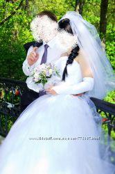 свадебное платьеце