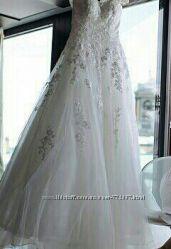 Очень крутое Свадебное платье р. 44-46