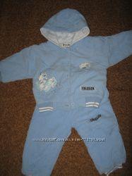 Теплый костюм на малыша от 6 мес. до года