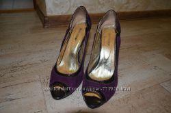 Очень красивые, удобные туфли, босоножки 38р.