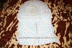 Одеяло конверт детский в коляску и кроватку