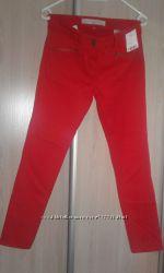 Красные джинсы-брюки NEXT JEANS