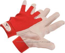 кожанные рабочие  перчатки