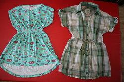 Туника платье летнее на 6-9лет классная