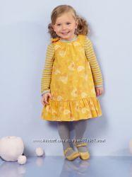 двустороннее платье Vertbaudet, рост 90-97 см