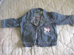 джинсовая куртка  MICROMOTION р. 74