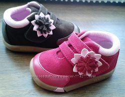 Детские ботики Jumping Jacks - розовые и коричневые. - р. с 20 по 25