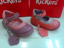 Kickers Летние туфельки для девочки размеры от 19 по 22