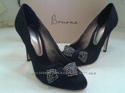 Атласные нарядные туфли BOURNE