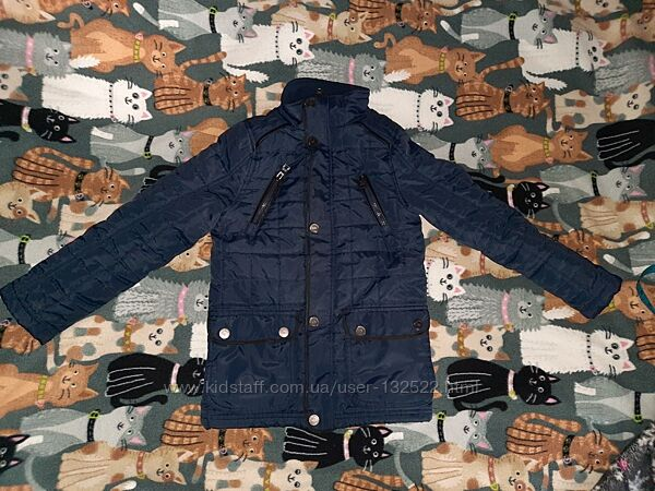Демисезонная стеганая куртка для мальчика Urban Republic, размер 8