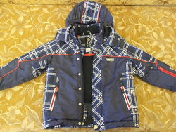 Зимний термокомплект куртка  комбинезон Brugi р.104-110