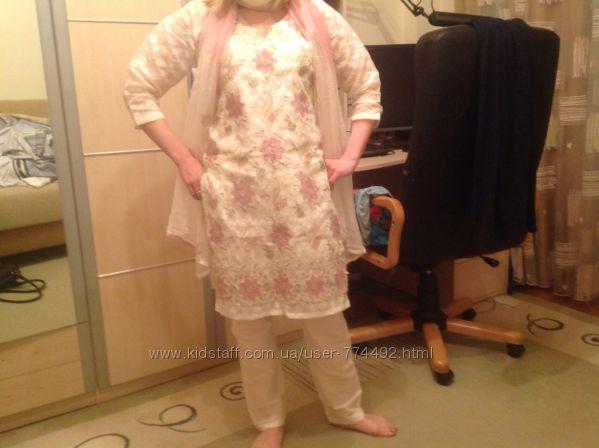 Национальный Индийский костюм Новый