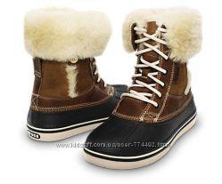 Зимние сапоги ботинки Crocs р. 5 22-22, 5 см