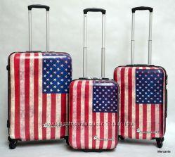 чемоданы David Jones 2000 А американский флаг