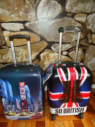 чемодан David Jones 8818 So British, 2000 Т time square  ручная кладь